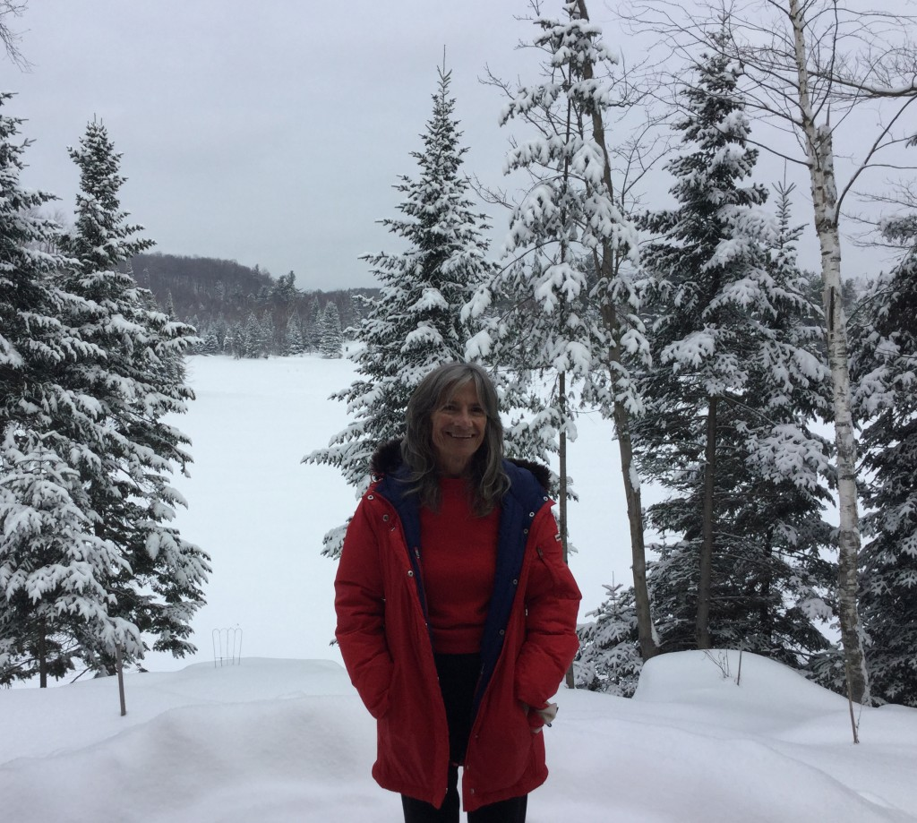 Elizabeth Wajnberg, now residing in California, is delighted to return to her hometown of wintery Quebec.