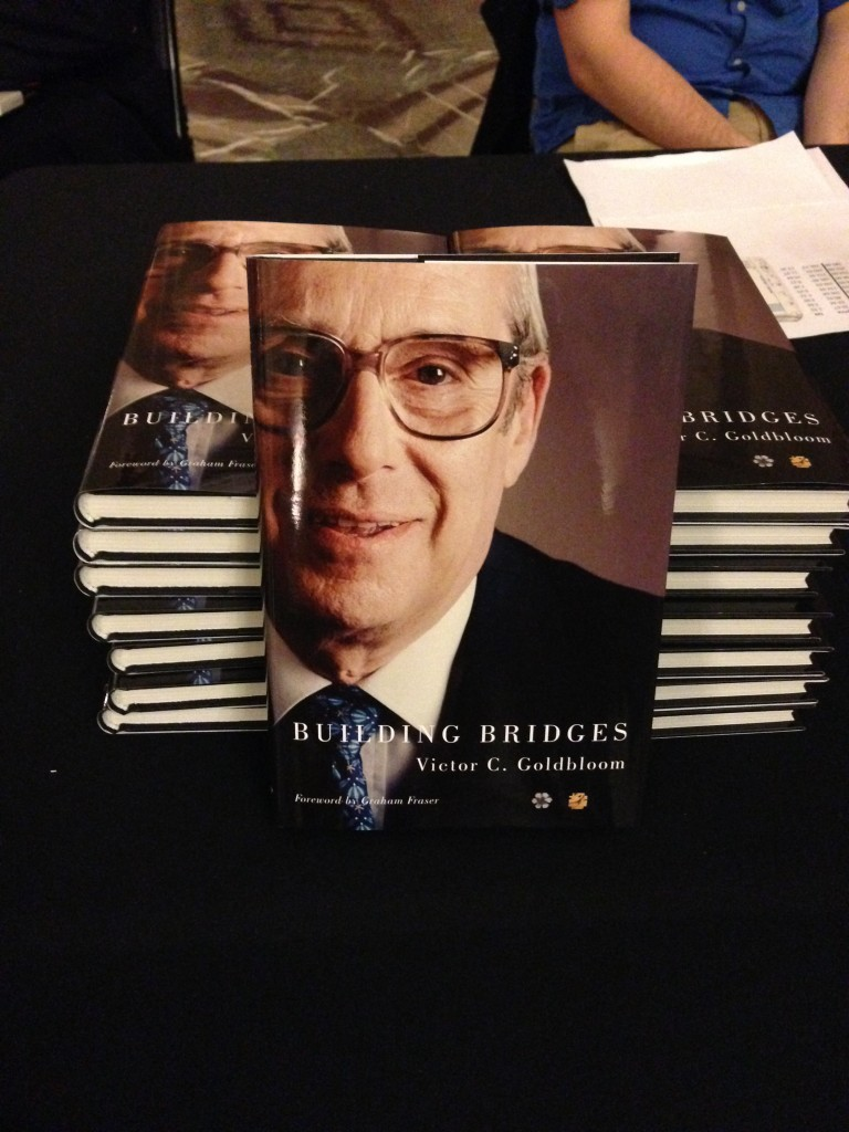 Building Bridges book launch at Montreal City Hall.