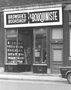 The first bookstore where Jack Hannan worked.