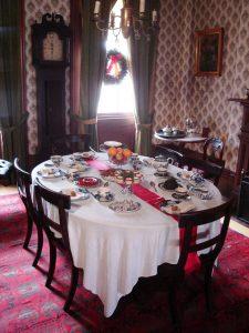 Dining room, Mackenzie House, 2006