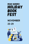 Read Quebec: Holiday Book Fest and Promotion