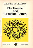 The Frontier and Canadian Letters