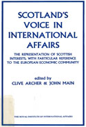 Scotland's Voice in International Affairs