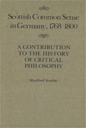 Scottish Common Sense in Germany, 1768-1800