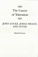 The Career of Toleration