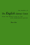 The Making of the English Literary Canon
