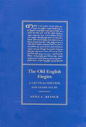 The Old English Elegies