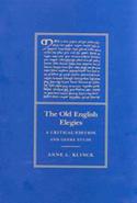 The Old English Elegies