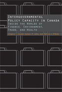 Intergovernmental Policy Capacity in Canada