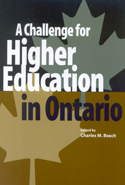 A Challenge for Higher Education in Ontario