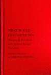 What Would Cervantes Do?