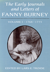 Early Journals and Letters of Fanny Burney: Volume I, 1768-1773, The