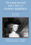 Early Journals and Letters of Fanny Burney: Volume V, 1782-1783, The