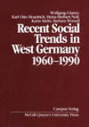 Recent Social Trends in West Germany, 1960-1990