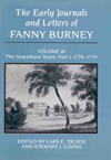 Early Journals and Letters of Fanny Burney: Volume III, The