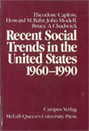 Recent Social Trends in the United States, 1960-1990