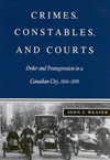 Crimes, Constables, and Courts
