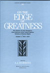 On the Edge of Greatness: Volume III, 1952-1957