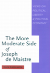 More Moderate Side of Joseph de Maistre, The