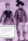 Vie et mort du couple en Nouvelle-France