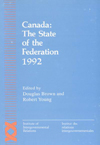 Canada: The State of the Federation 1992
