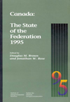 Canada: The State of the Federation 1995