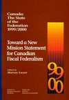 Canada: The State of the Federation, 1999-2000