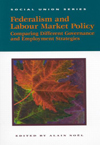 Federalism and Labour Market Policy
