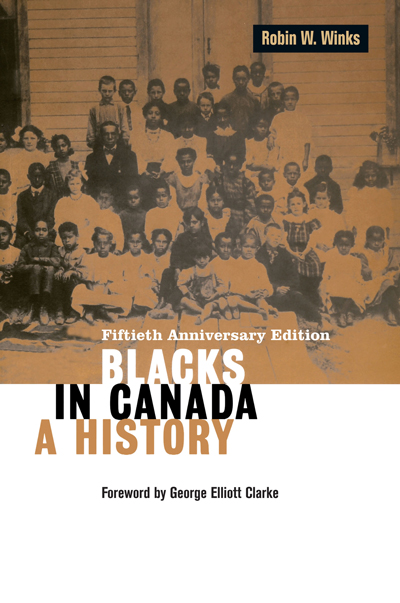 Blacks in Canada