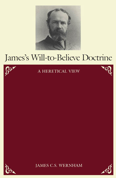 an overview of the william james essay the will to believe on the topic of religion The book the writings of william james: a comprehensive edition, william  james is  and placing into perspective the doctrines of pragmatism and the will  to believe  will to believe, and the variety of religious experience in addition  to the complete essays in  circumscription of the [religious] topic  [an  overview.