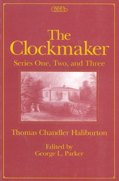 Clockmaker The Mcgill Queen S University Press border=